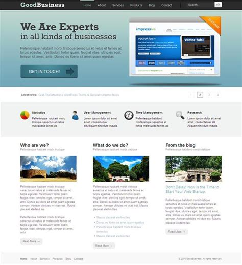 Best Website Templates Best Site Templates