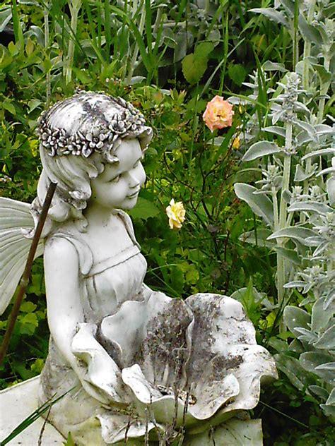 fairy garden statues garden seating areas minerva s garden blog