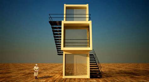 Modular Kitchen Designs Red White - minimalist shipping container house is an artist s dream inhabitat green design innovation