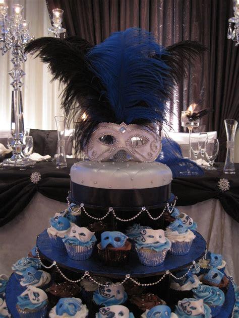 Venetian Masquerade   Wedding cake for a Venetian