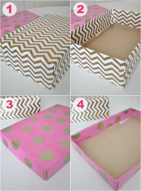 How To Make A Box Out Of Wrapping Paper - the world s catalog of ideas