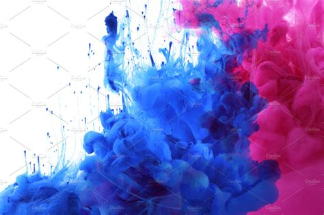 colors inc acrylic colors and ink in water photos creative market