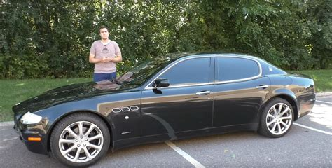 This Old Maserati Quattroporte Is So Bad It Shouldn T Be
