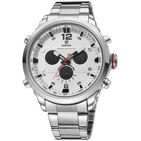 Review Jam Tangan Invicta weide jam tangan analog stainless steel wh6303 gray silver jakartanotebook