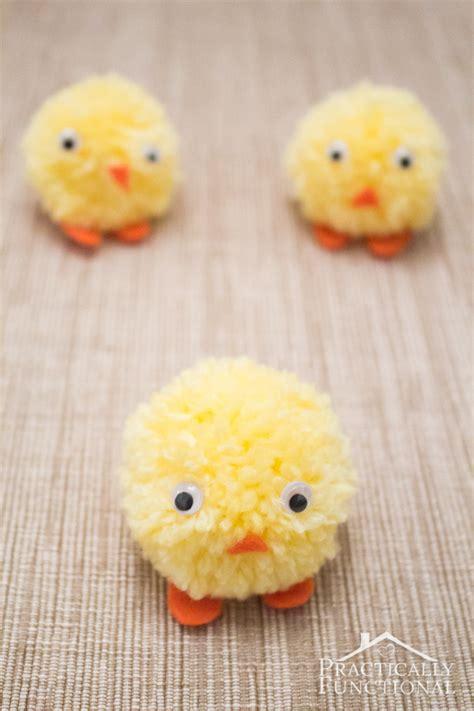 pom pom chicks  easter