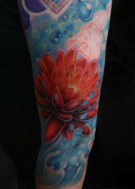 tattoo flower water 155 lotus flower tattoo designs