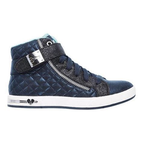 Skechers Quilted by Skechers Shoutouts Quilted Crush High Top Navy