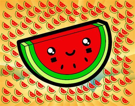 imagenes de frutas kawaii dibujos kawaii comida para colorear imagui