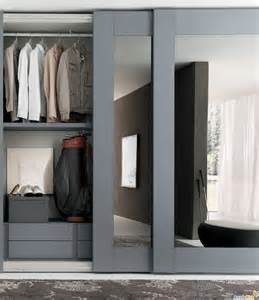 Mirror Wardrobe Closet Doors Sliding Mirror Closet Doors With Gray Hair Mirrored Closet Doors Mirrored Closet