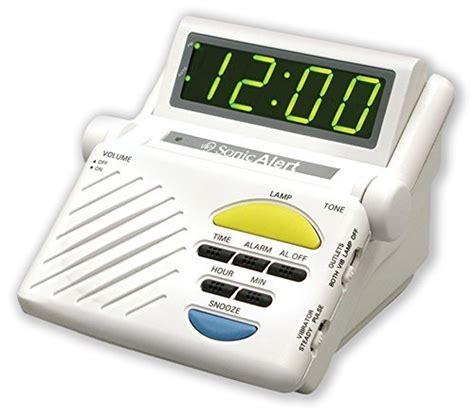 sonic alert sb1000ss sonic boom alarm clock livelyseniors