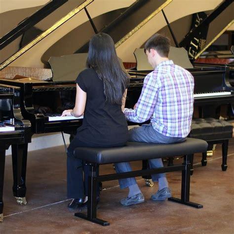hidrau piano bench hidrau model 43 quot super duet hydraulic adjustable piano