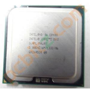 Intel 2 Duo Processor E8400 Fan 6m Cache 3 0 Ghz 1333 Fsb intel 2 duo e8400 slapl 3 00ghz 6m 1333 socket lga775 cpu cpu processors