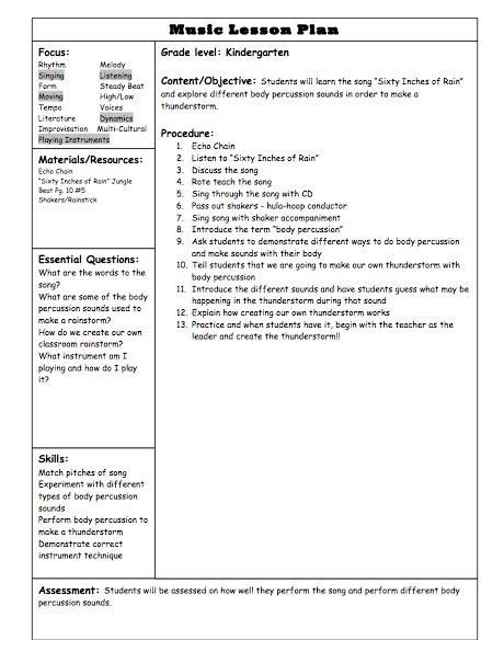 what is a lesson plan elementary education q and a