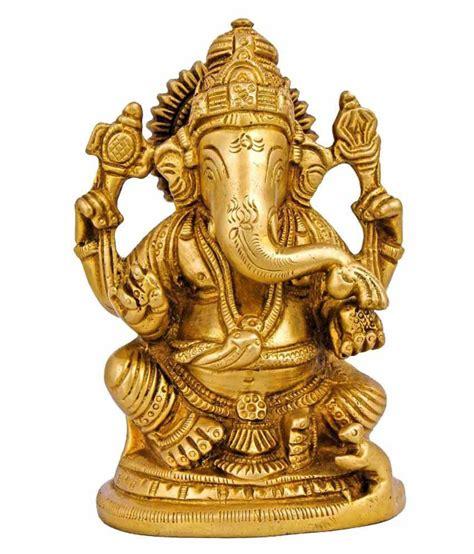god statues itos365 hindu god ganesha statues brass sculpture home decor idol 4 3 inches buy itos365 hindu