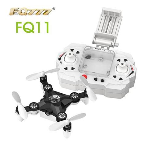 Mini Drone Fq777 Fq11 fq777 fq 11w wifi fpv 0 3mp foldable pocket drone black