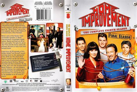 home improvement season 8 box tv dvd scanned covers