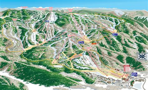 steamboat mountain steamboat ski resort skimap org