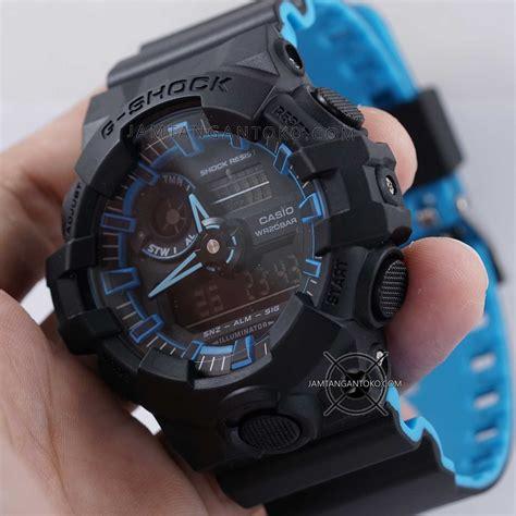 G Shock Ga 700 Hitam gambar g shock ori bm ga 700se 1a2 hitam biru bagian