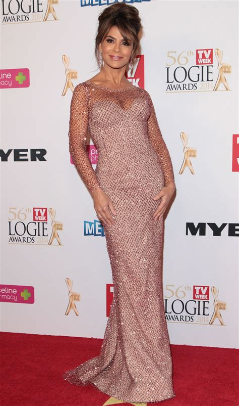 Paula Abdul Blames Nutty On Technical Problems by Australian Logie Awards 2014 Paula Abdul Australian