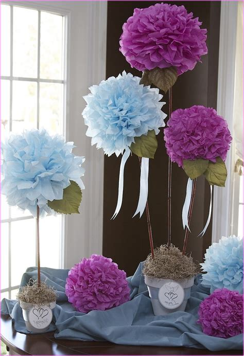 bridal shower table centerpiece ideas wedding shower decoration ideas