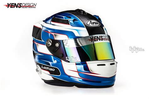yens design helmet racing helmets garage arai gp 6 rc quot lichao quot by yen s