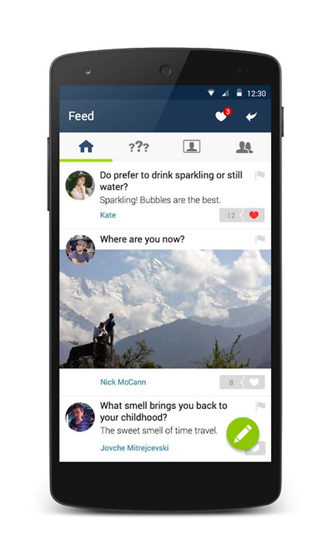 ask fm android ask fm social q a network android apps on google play