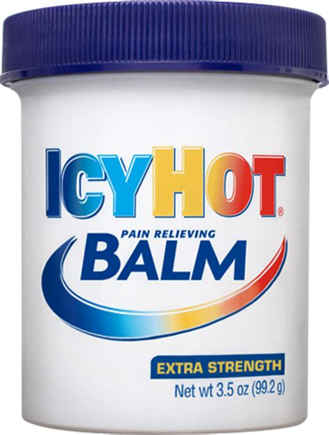 icy hot drug facts icy hot balm