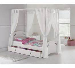 Single Bed Canopy Argos Buy Collection Single 4 Poster Bed Frame White At