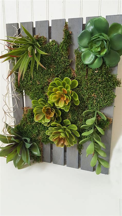 diy vertical succulent garden the honeycomb home