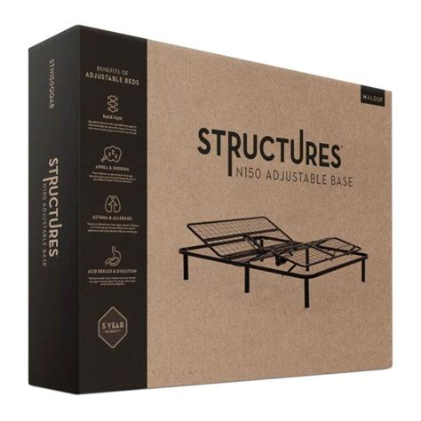 structures  adjustable bed base  malouf