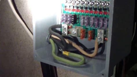 solar power system  volt  panel fuse box youtube
