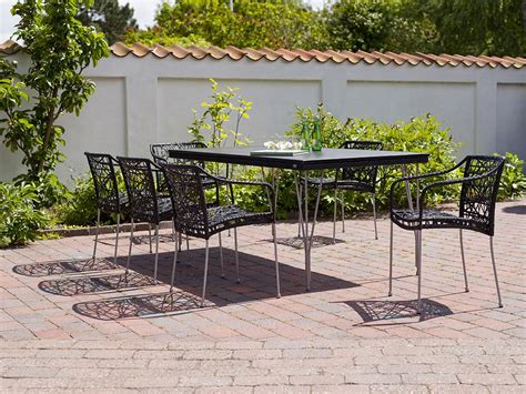 plateau table exterieur 1449 table rectangulaire tresse 90 x 180 cm