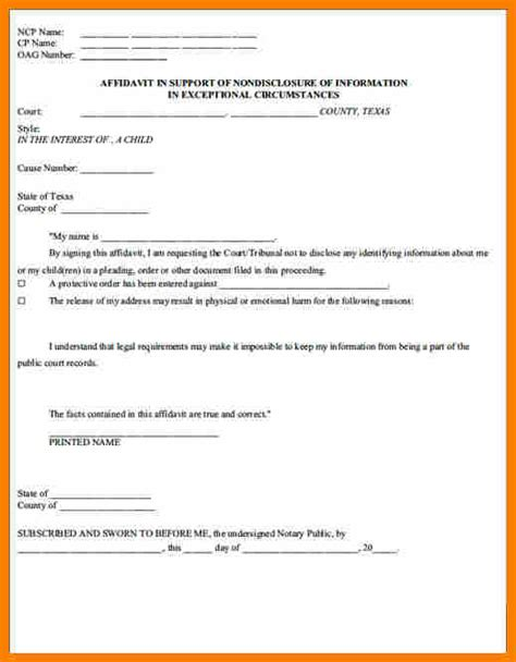Voluntary Child Support Agreement Letter Sle 7 Voluntary Child Custody Agreement Form Land Scaping Flyers
