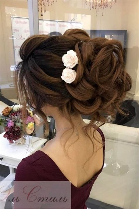 65 Long Bridesmaid Hair & Bridal Hairstyles for Wedding