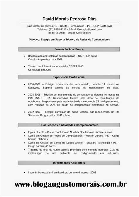 Modelo Curriculum Vitae De Empresas modelo de curriculo vitae