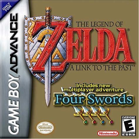 Gabag Zelca the legend of a link to the past includes four
