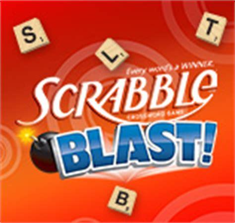 scrabble blast deluxe free pogo mobile