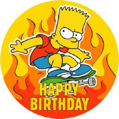 Simpsons Birthday Card Simpsons Birthday Cards Get Domain Pictures