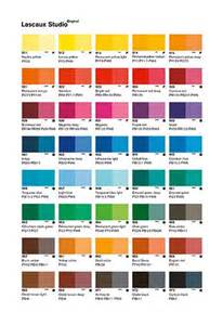 11 best images about painted colour charts on