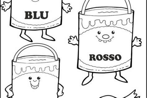 colori per bambini disegni per bambini colori primari