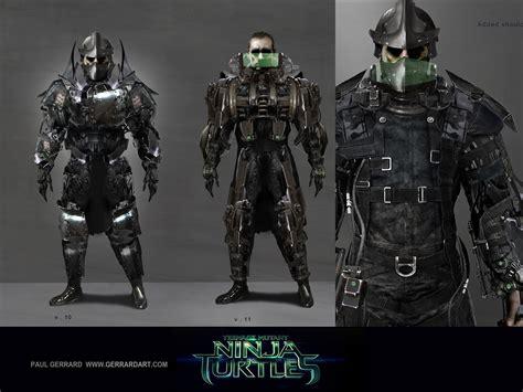 Foot Clan Giveaway - unused shredder and foot clan designs for teenage mutant ninja turtles