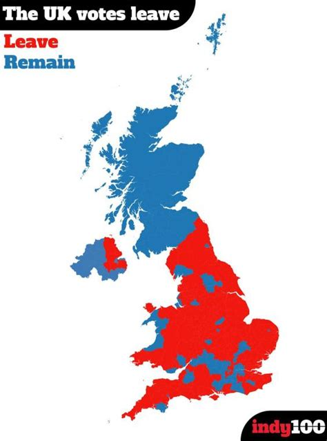 map uk eu referendum 15 maps and charts that explain the eu referendum indy100