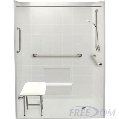 Freedom Showers by Freedom Accessible Shower Package Right Drain 5