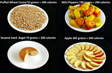 What 200 Calories Look Like You What 200 Calories Looks Like