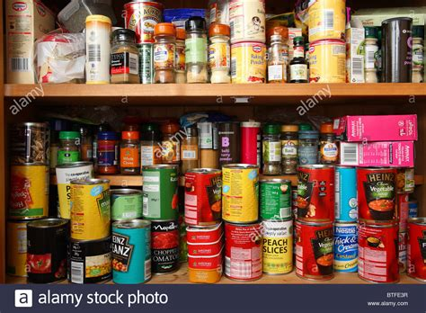Food Pantry Ltd by Stocked Food Cupboard Stock Photo Royalty Free Image 32302475 Alamy