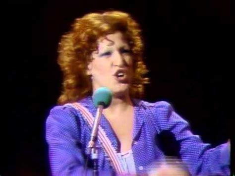 bette midler live bette midler show live at last 1976 cleveland oh