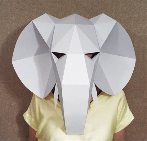 Paper Mask Martin search results for elephant paper plate template