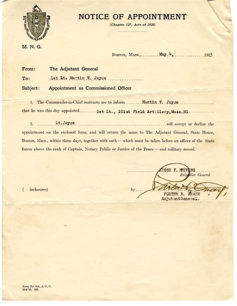 appointment letter safety officer sle appointment letter health safety officer 28 images