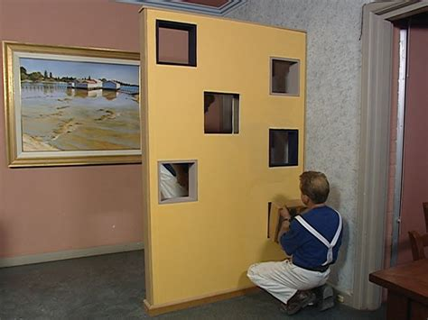 build  room divider  partition wall youtube