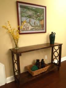 Narrow Console Table For Hallway White Narrow Console Table Diy Projects